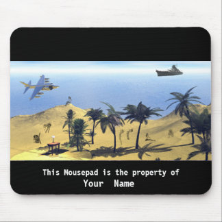Vacations Surreal Mousepad Mouse Pads