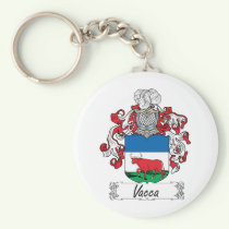 Vacca Family Crest Keychain
