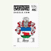 Vacca Family Crest Stamps