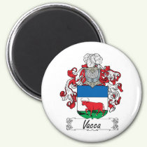 Vacca Family Crest Magnet