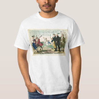 Vaccination Against Smallpox Political Cartoon T-Shirt