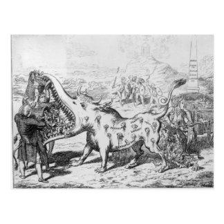 Vaccination, published by J.L.Stuart, 1802 Postcard