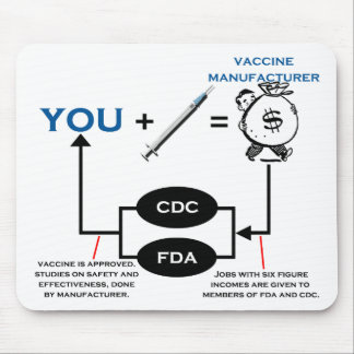 Vaccine Chart Mouse Pad