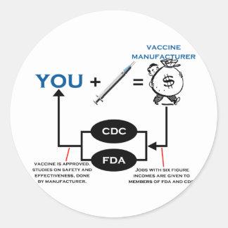 Vaccine Chart Sticker