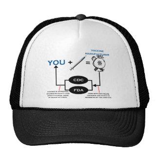 Vaccine Chart Trucker Hat