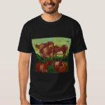 vach de los les de Van Gogh de los vaches de los Playera