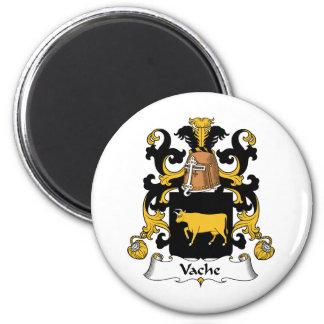 Vache Family Crest Magnet
