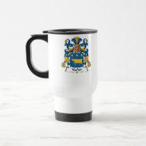 Vacher Family Crest Mug