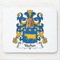 Vacher Family Crest Mousepad