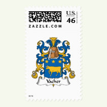Vacher Family Crest Stamps