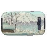 Vaciamiento después de nieve en Oshiono Hasui Kawa Samsung Galaxy S3 Protector