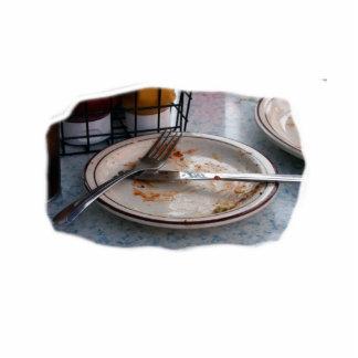 Vacie el diseño comido de Foodie de la comida del  Escultura Fotografica