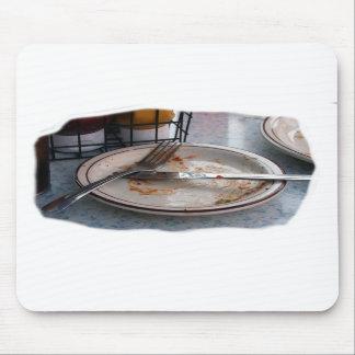 Vacie el diseño comido de Foodie de la comida del  Alfombrillas De Raton