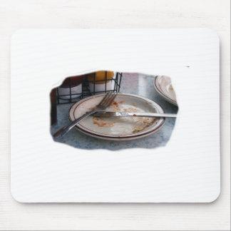 Vacie el diseño comido de Foodie de la comida del  Tapetes De Raton