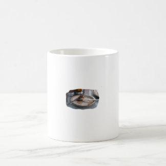 Vacie el diseño comido de Foodie de la comida del  Taza De Café