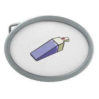 Vacío del PDA Hebilla De Cinturón Oval