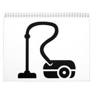 Vacuum cleaner calendar