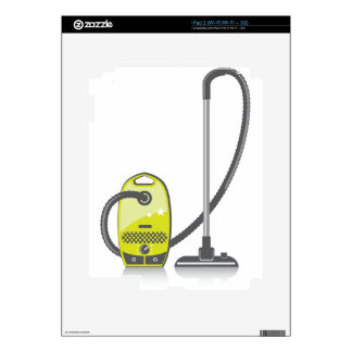 Vacuum Cleaner Decal For The iPad 2