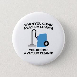 Vacuum Cleaner Pinback Button