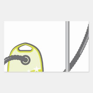 Vacuum Cleaner Rectangular Sticker