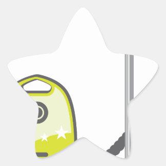 Vacuum Cleaner Star Sticker