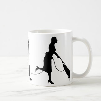 Vacuum Cleaning Classic White Coffee Mug
