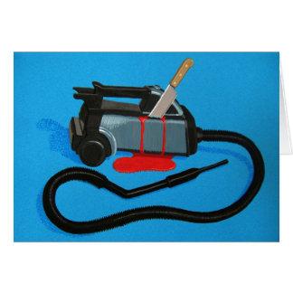 Vacuum Murder (blank) Card