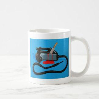 Vacuum Murder (no text) Classic White Coffee Mug
