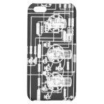 vacuum tube, retro, radio, circuit diagram, geek,