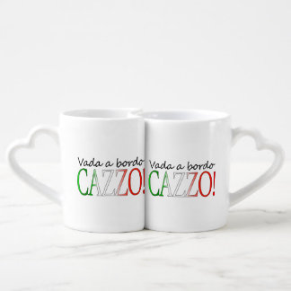Vada a Bordo Cazzo Coffee Mug Set