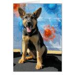 Vada - German Shepherd -1 Greeting Card
