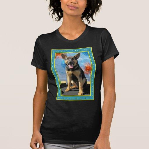 Vada - German Shepherd -1 Tshirt