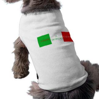 Vada una camisa de Cazzo del bordo para el perro Playera Sin Mangas Para Perro