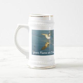 Vadear el personalizado Stein de las gaviotas Taza De Café