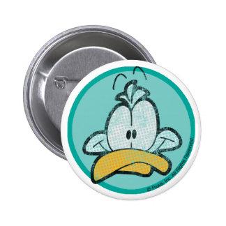 Vadee el botón del pato pin redondo de 2 pulgadas