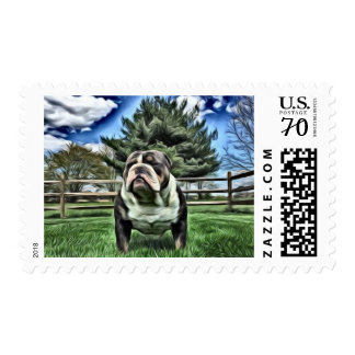 "Vader ""happy summers days"" postage"