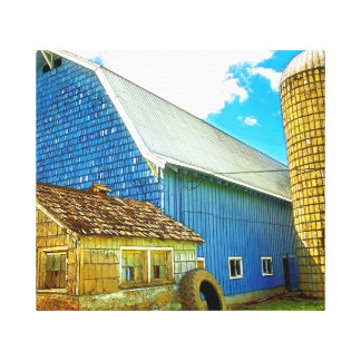 Vader, Washington Farm Canvas Print
