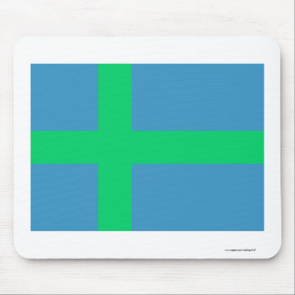 Vadjalain (Votia) flag Mouse Pad