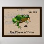 Va'era - Frogs Poster