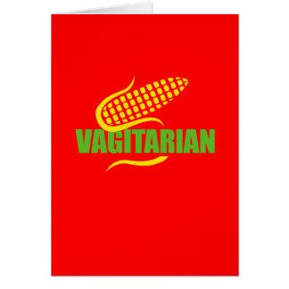 Vag-itarian Card