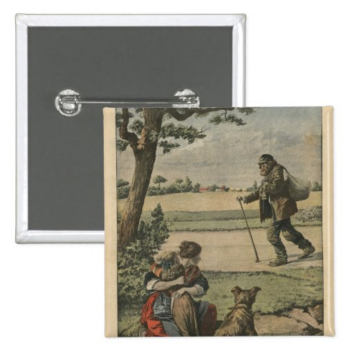 Vagabond is a nuisance for countryside pinback buttons