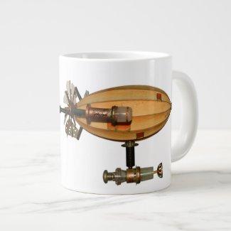 Vagabond Steampunk Airship Coffee Mug