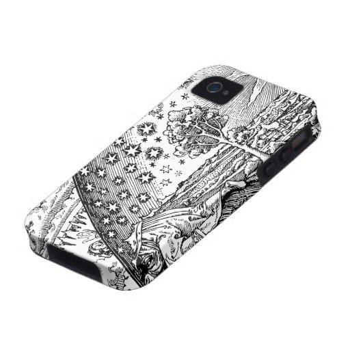 Vagabundo de Flammarions Case-Mate iPhone 4 Fundas