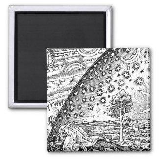 Vagabundo de Flammarions Imán Cuadrado