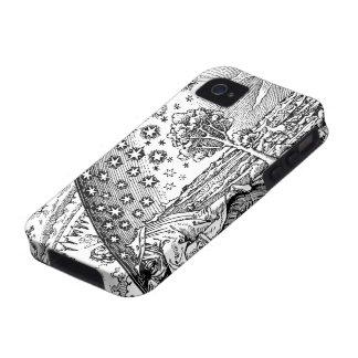Vagabundo de Flammarions iPhone 4/4S Fundas
