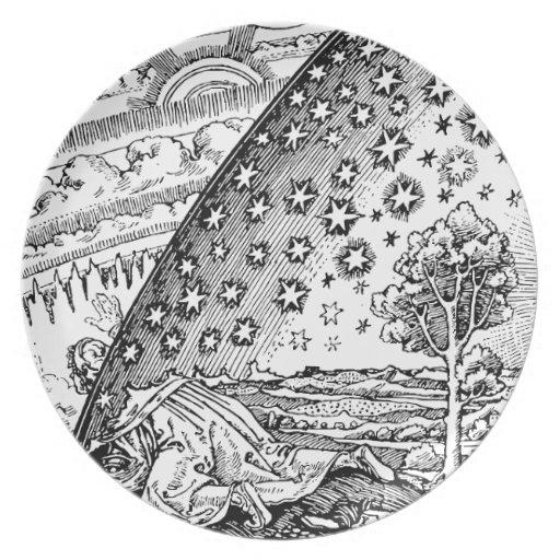 Vagabundo de Flammarions Plato Para Fiesta