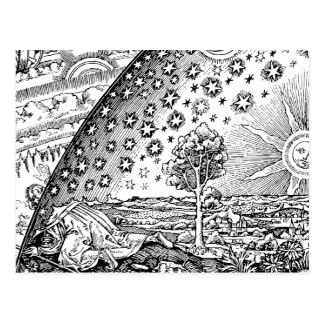 Vagabundo de Flammarions Postal