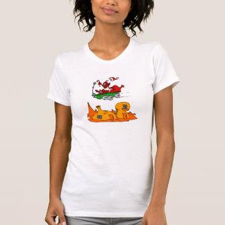 Vagabundo marciano de Santa T-shirts
