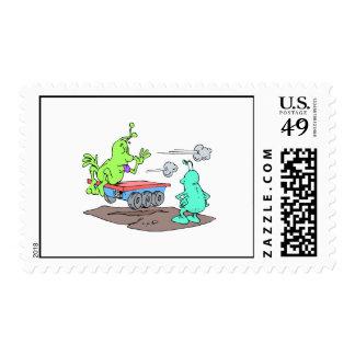 Vagabundo robado sello