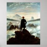 Vagabundo sobre el mar de la niebla, Caspar Friedr Impresiones